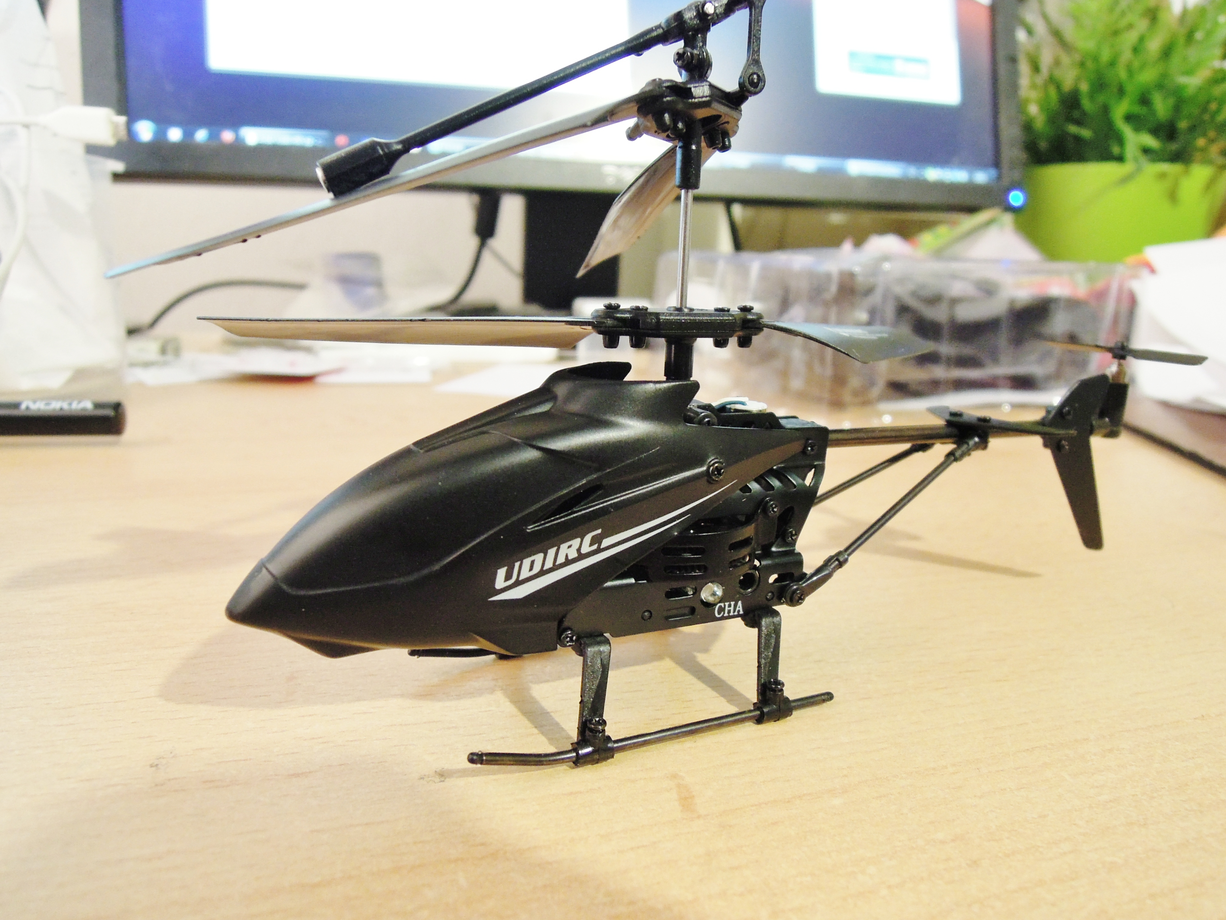 uController RC Helicopter