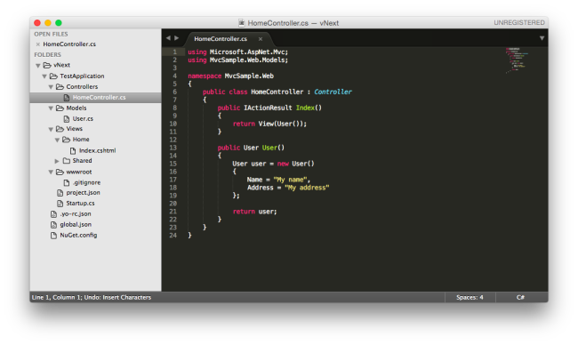 Sublime Text 3 MVC