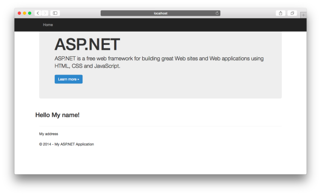 ASP.NET MVC on a Mac OS X