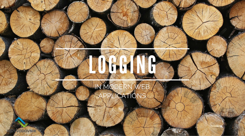 Logging in modern (web) applications
