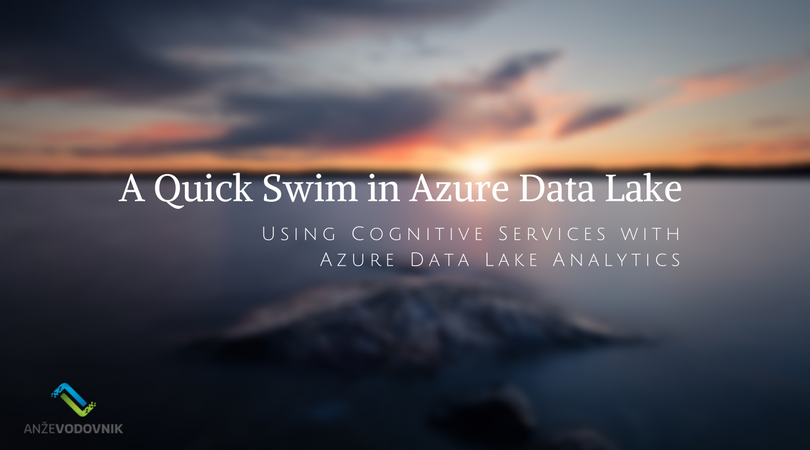A Quick Swim in Data Lake