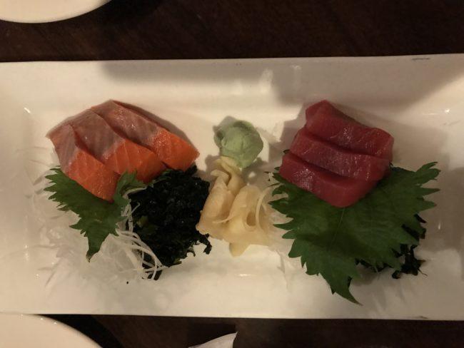 Sashimi in Seattle
